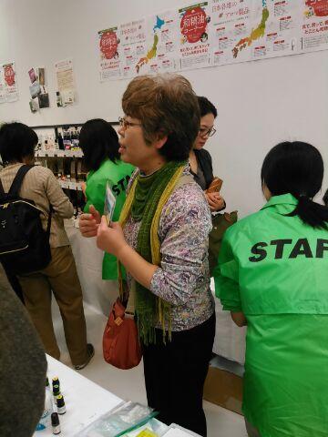 コーナーでは重松先生が忙しく対応していました
